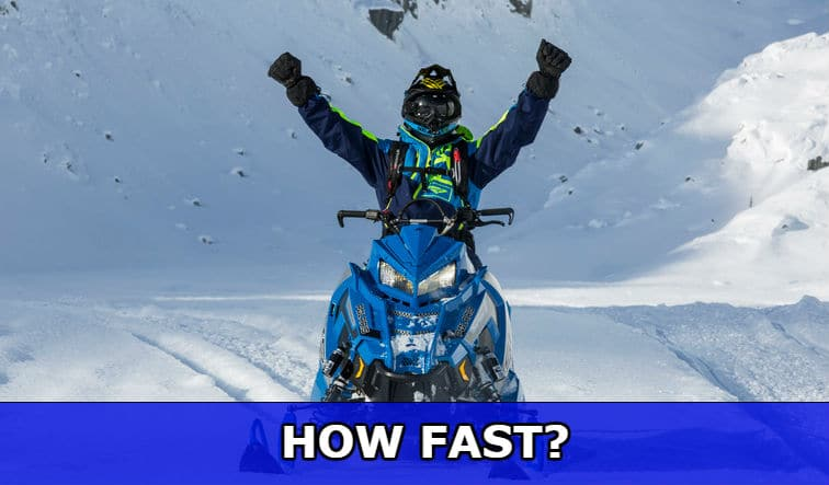 How fast is a snowmobile? Most popular examples - First Snowmobile